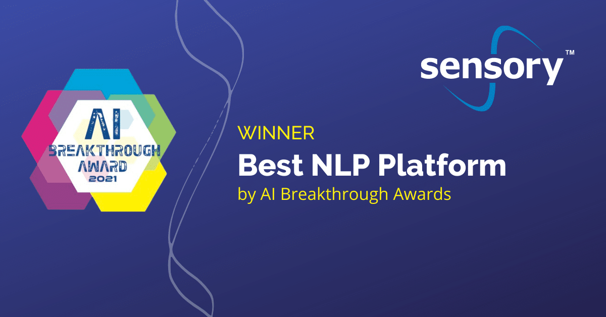 Alt Text2021 AI Breakthough Award for