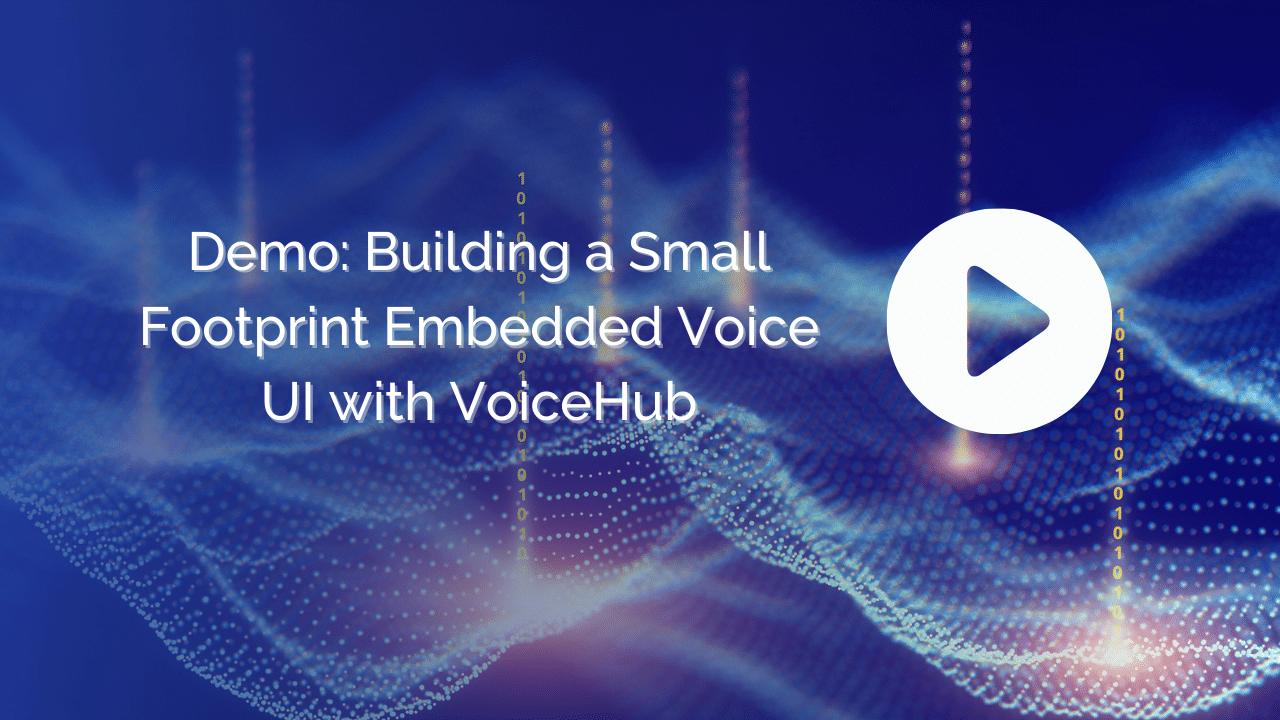 TI VoiceHub Demo Video)