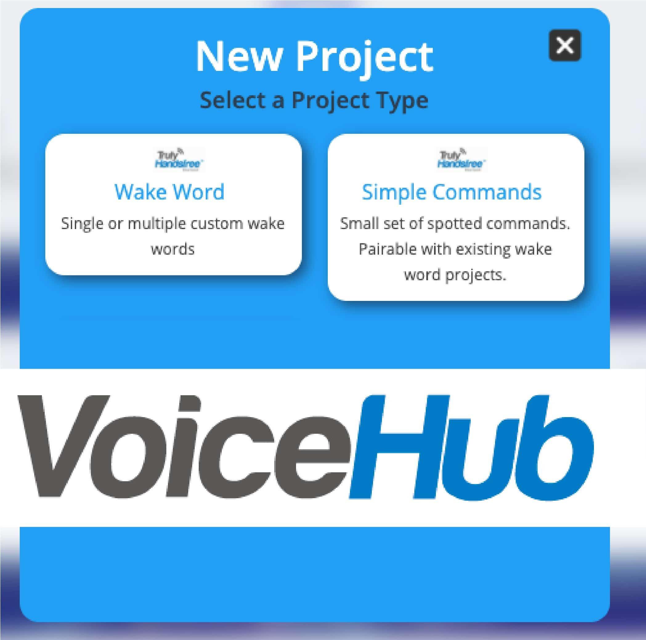 Sensory Voice Hub Portal